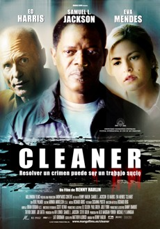 "Poster en español ""Cleaner"""
