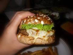 起司三重奏漢堡