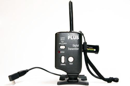 Pocket Wizard + Wireless USB Tether