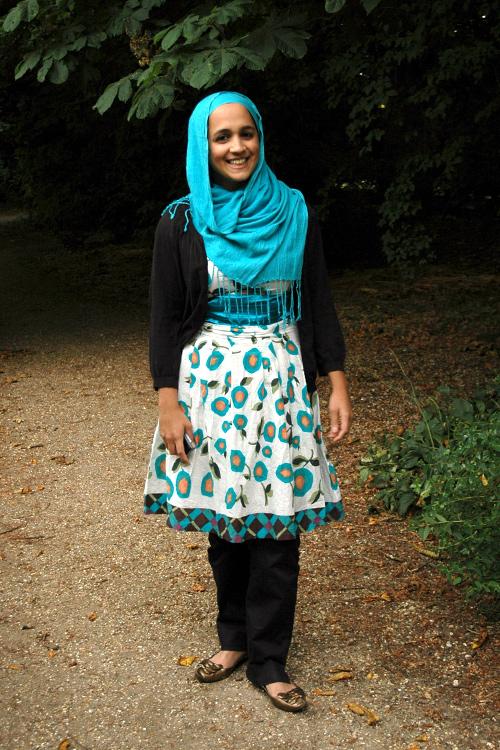 Hijabs High After Jummah Cambridge