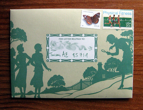 Nancy Drew fold and mail