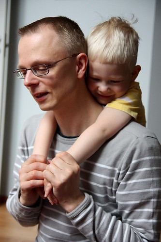 Niilo and Daddy