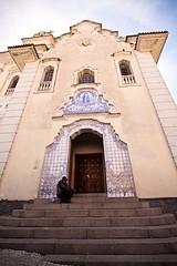 Largo da Ordem (Andre Praxedes) Tags: old blue brazil sky history church paran brasil stairs canon homeless wide curitiba igreja 1020mm pedinte