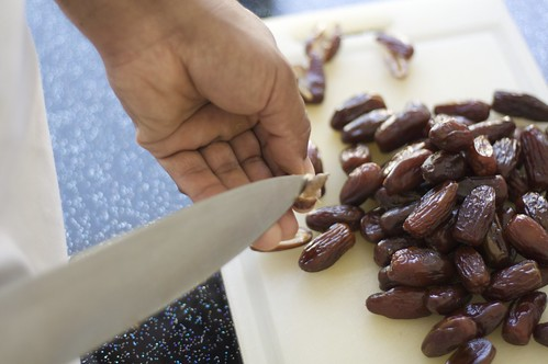 Removing Seeds from Dates