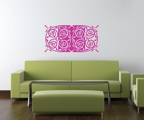 interior design modern green furniture on white wall