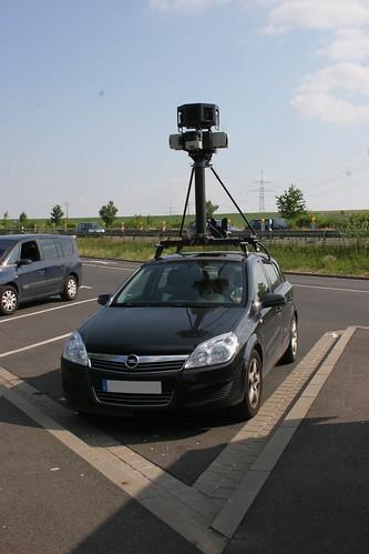 Google Car in Würzburg