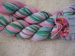 cotton sock yarn 2b