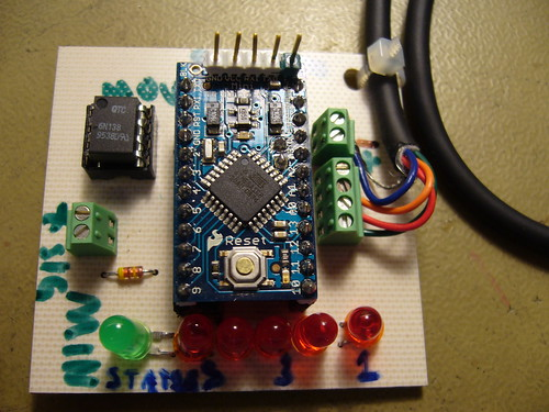 Arduinoboy for Arduino Pro 5V, (Almost) fully equipped, front