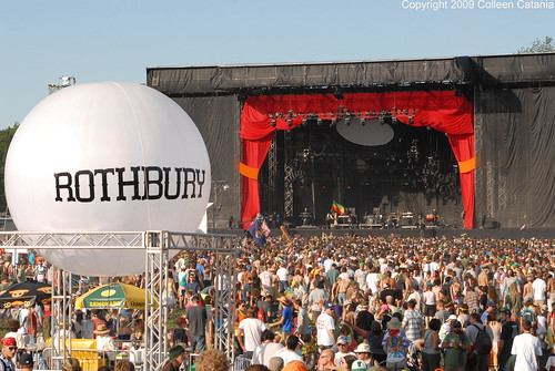 Rothbury 2009 Odeum Stage