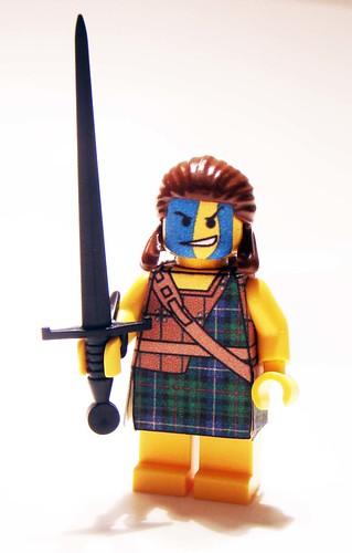 William Wallace custom minifig