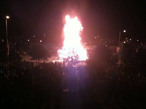 Ballybeen Bonfire