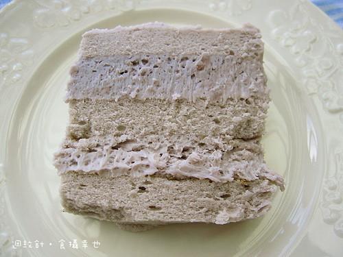 聖保羅芋泥蛋糕剖面