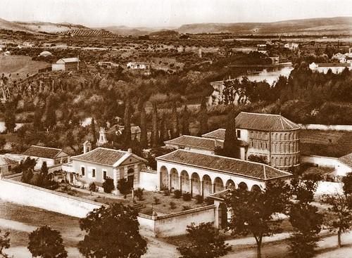 Ermita del Cristo de la Vega a principios del siglo XX