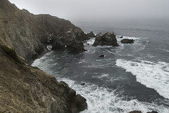 Land's End (lacey underall) Tags: california waves pacificocean landsend tomalesbay pointreyesnationalseashore rockycoastline tomalesbaystatepark