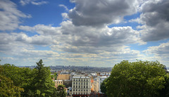 Paris - View From Montmartre (meenaghd) Tags: paris france montmartre sacrecoeur hdr photomatix basiliquedusacrcur simga1020