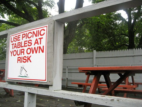 Clam Box Picnic Tables