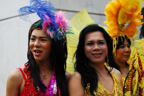 The Thai Trannies at Pride