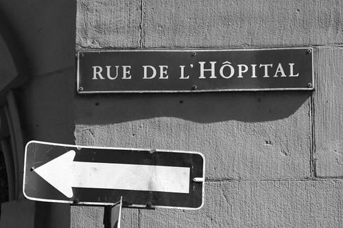 Rue de L'Hôpital, Montréal.
