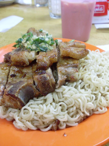 Pork Chop Lou Mien of Lan Fong Yuen