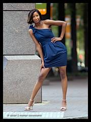Breona - Tilt (jfinite) Tags: urban beauty model photoshoot charlotte uptown adapter nikon43 nikon135mmf2