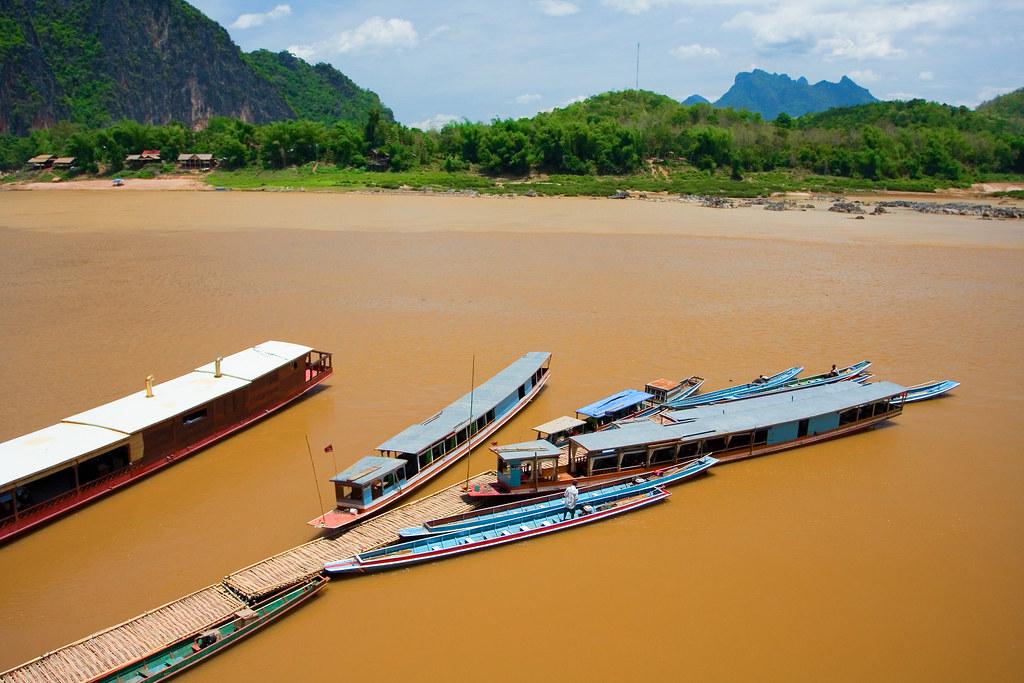 Boats Mekong