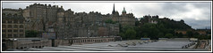Edinburgh Old town Panorama (Grey Hamster) Tags: old uk panorama scotland town edinburgh britain sony 350 alpha a350 ashowoff