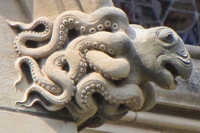Octopus gargoyle