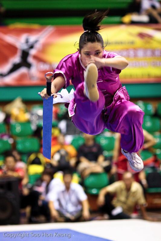 Wushu Competition (Kick) @ KL, Malaysia