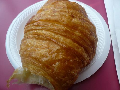 Coconut croissant