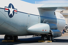 C-141A Starlifter (Justin Pistone) Tags: museum force air united prototype states delaware amc lockheed base command dover mobility c141 starlifter c141a