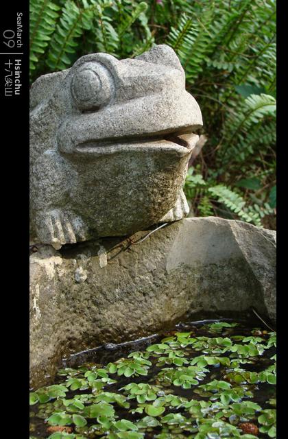 石雕青蛙 @ 十八尖山