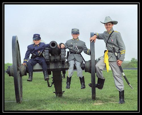 kids at gettysburg