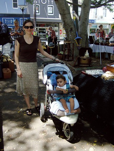 At the Rozelle market