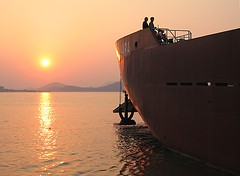 "LCT ""ASC Lara"" (Asian Shipping Corporation) Tags: china sunset sea boats boat ship tank ships philippines rental craft landing shipping landingcraft barge asc charter lct zhousan asianship asclara asianshipiing asianshippingcorp"