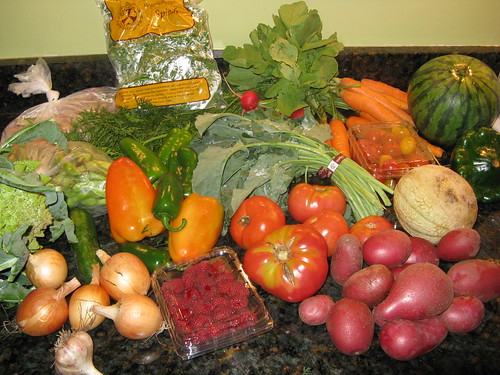 What's in CSA box #9