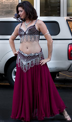 Shimmering in Silver (Brian Leon of Ottawa) Tags: woman sexy dance bellydancer brunette