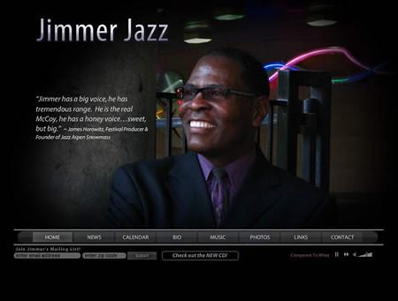 Music Artist Flash Website - Jimmer Bolden