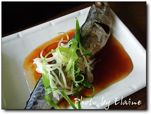 清蒸竹筴魚