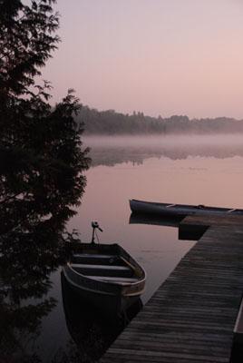 gust lake morning
