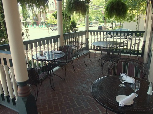 The Porch at the Worthington Inn