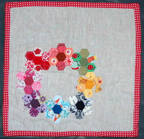Doll Quilt Swap Received!!