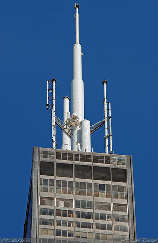 Willis Tower Sears Tower Crown Amp Mast A Photo On