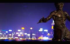 the dragon (millan p. rible) Tags: hongkong kowloon brucelee tsimshatsui victoriaharbor avenueofstars canonef50mmf14usm thedragon canoneos5dmarkii millanprible