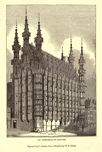 011- Ayuntamiento de Louvain-One hundred and fifty wood cuts, selected from the Penny magazine 1835