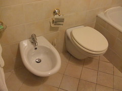 toilet in hotel