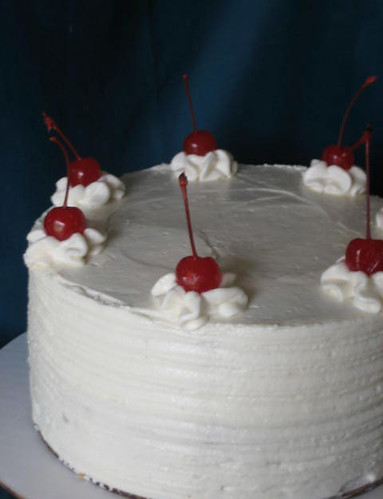 Retro Cherry Tall Cake