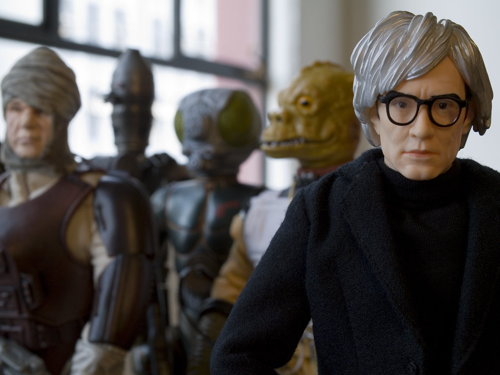 """In the future, everyone will be an intergalactic bounty hunter for 15 minutes."" - Andy Warhol"