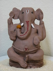 ganesh festival 2007 (Jennifer Kumar) Tags: india elephant art holidays god handmade crafts arts ganesh hindu hinduism vinayaka lordganesh ganapathi ganeshchathurthi hinduculture roopashri handmadeganesha alaivanicontributors alaivaniseptember2009 hinducultureinamerica celebraitons