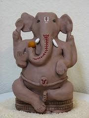 ganesh festival 2007 (Jennifer Kumar) Tags: india elephant art holidays god handmade crafts arts ganesh hindu hinduism vinayaka lordganesh ganapathi ganeshchathurthi hinduculture roopashri handmadeganesha alaivanicontributors alaivaniseptember2009 hinducultureinamerica celebraitons