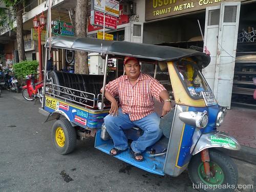Bangkok Day 2 - Tuk tuk